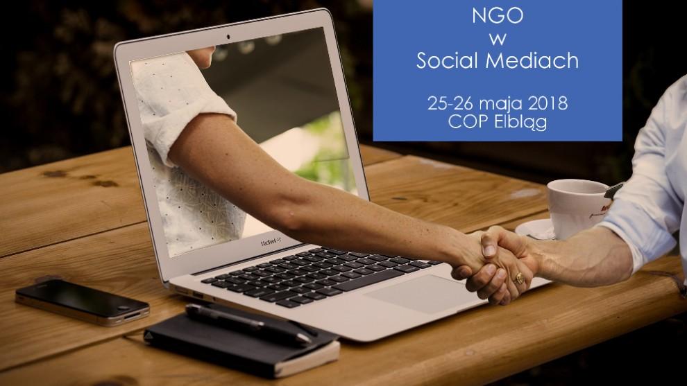 Szkolenie COP: NGO w Social Mediach - sprawdzone praktyki i