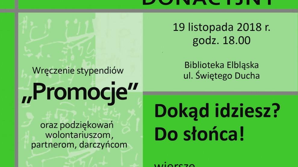 Elbląskie Towarzystwo Kulturalne zaprasza na Koncert Donacyjny