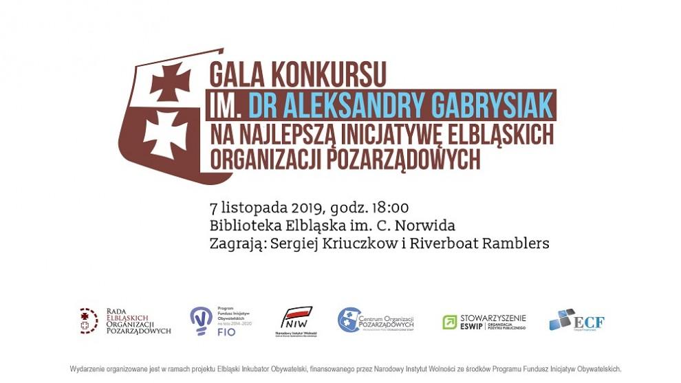 Gala konkursu na najlepszą inicjatywę elbląskich organizacji