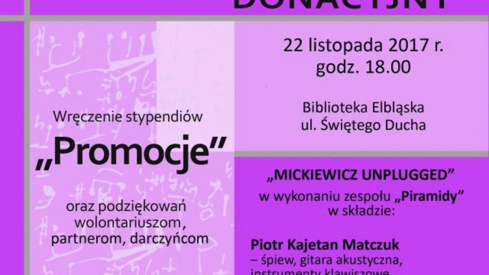 "ETK: Koncert Donacyjny i stypendia ""Promocje 2017"""