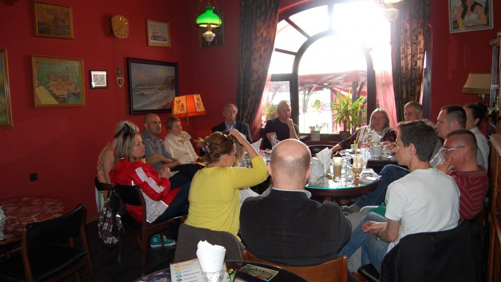Kawiarenka obywatelska podczas Dni Elbląga (niedziela, 22 czerwca